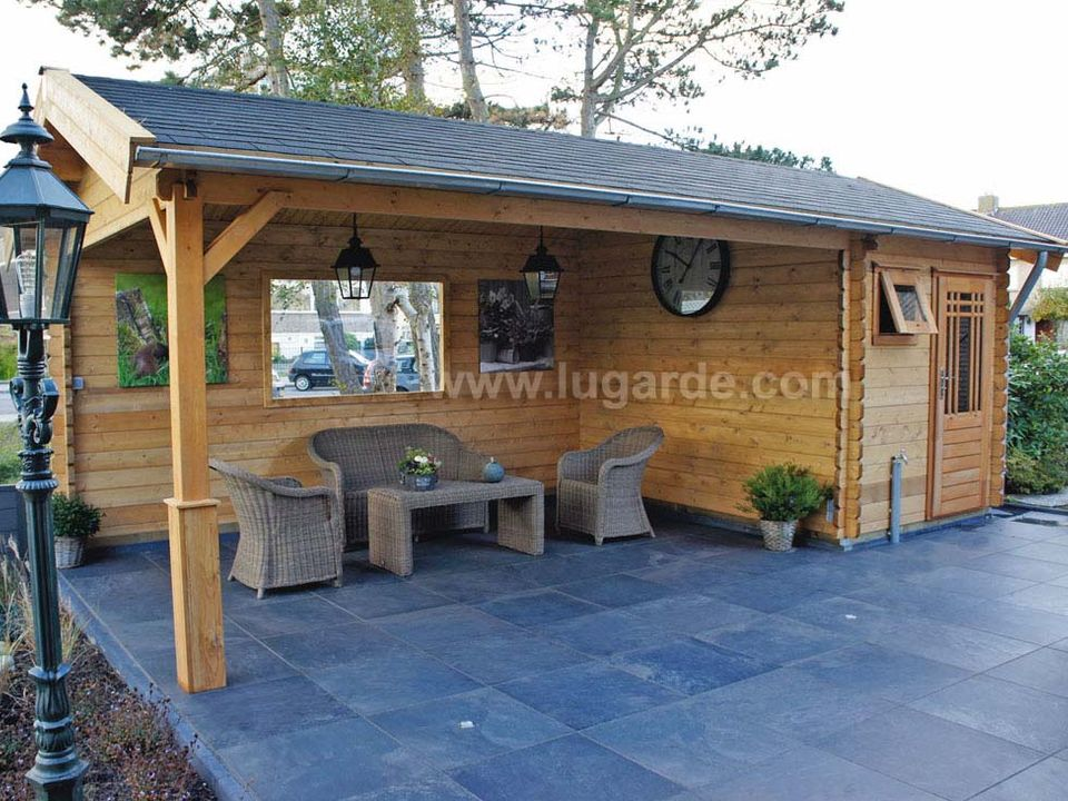 Lugarde Hannover log cabin