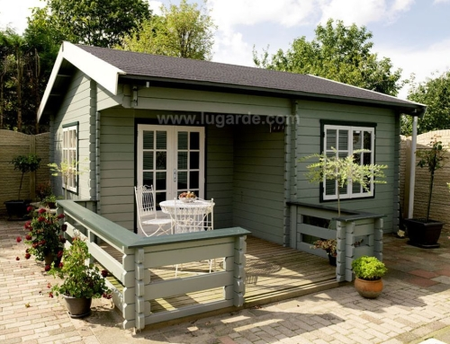 Paris log cabin B33
