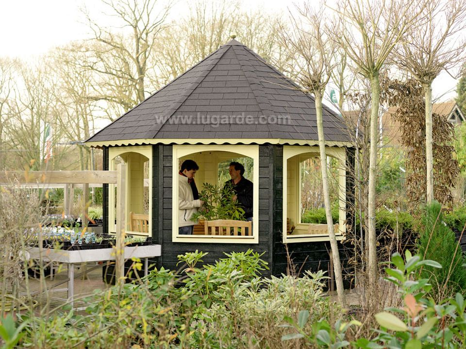 Lugarde Prima Chantal octagonal summerhouse 350cm