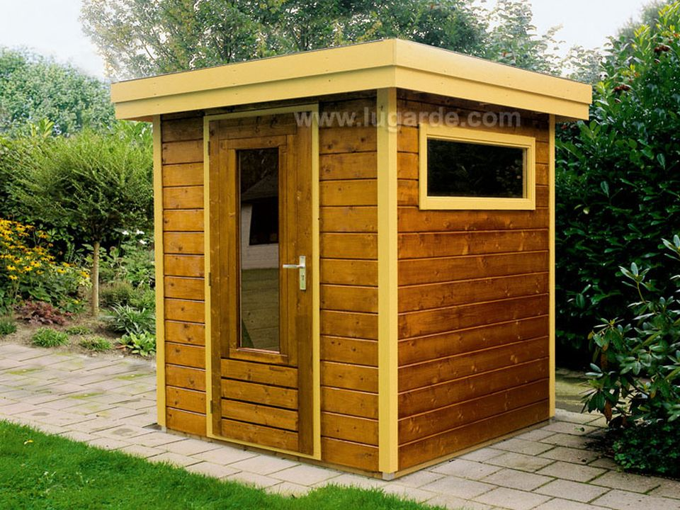 Lugarde Prima Thomas flat roof summerhouse