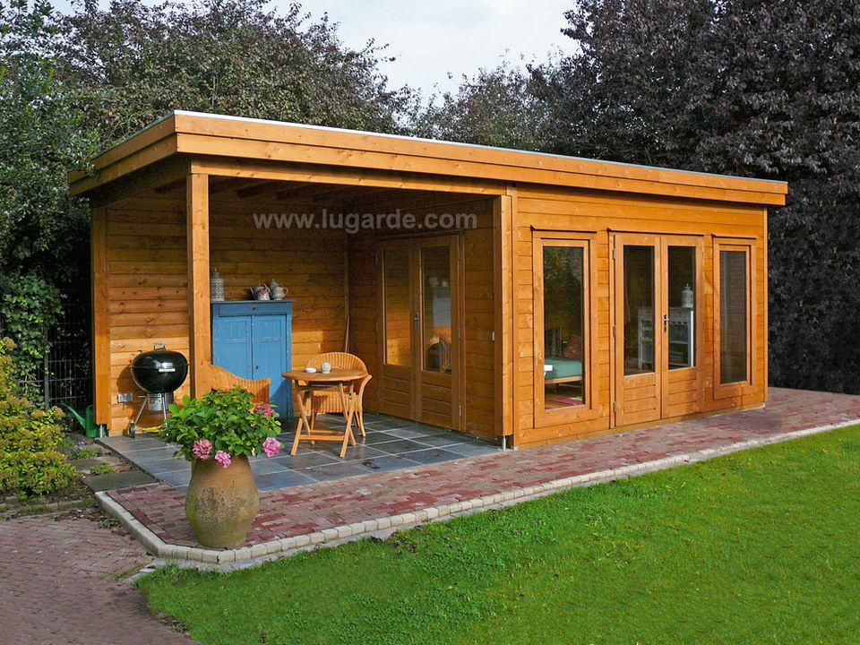 Prima Victoria Keops Interlock Log Cabins