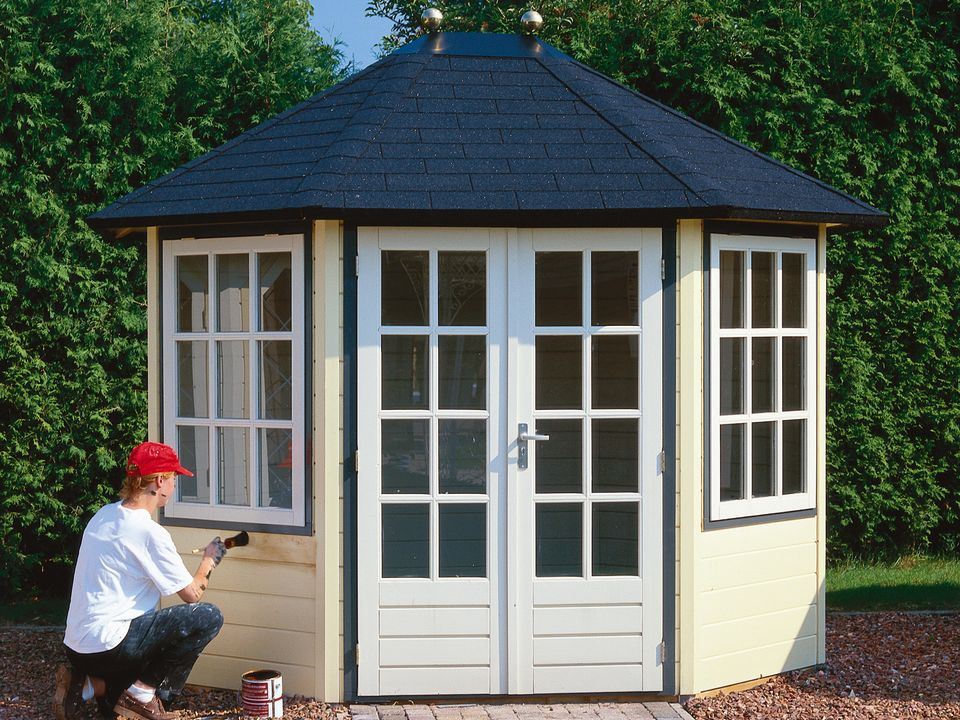 Lugarde Prima Rianne oval summerhouse
