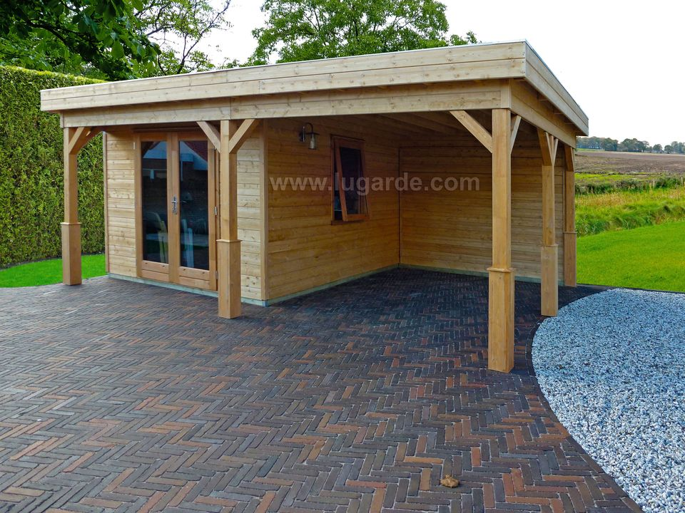 Lugarde Prima Henry flat roof summerhouse