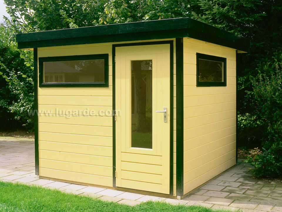 Lugarde Prima Mark flat roof summerhouse