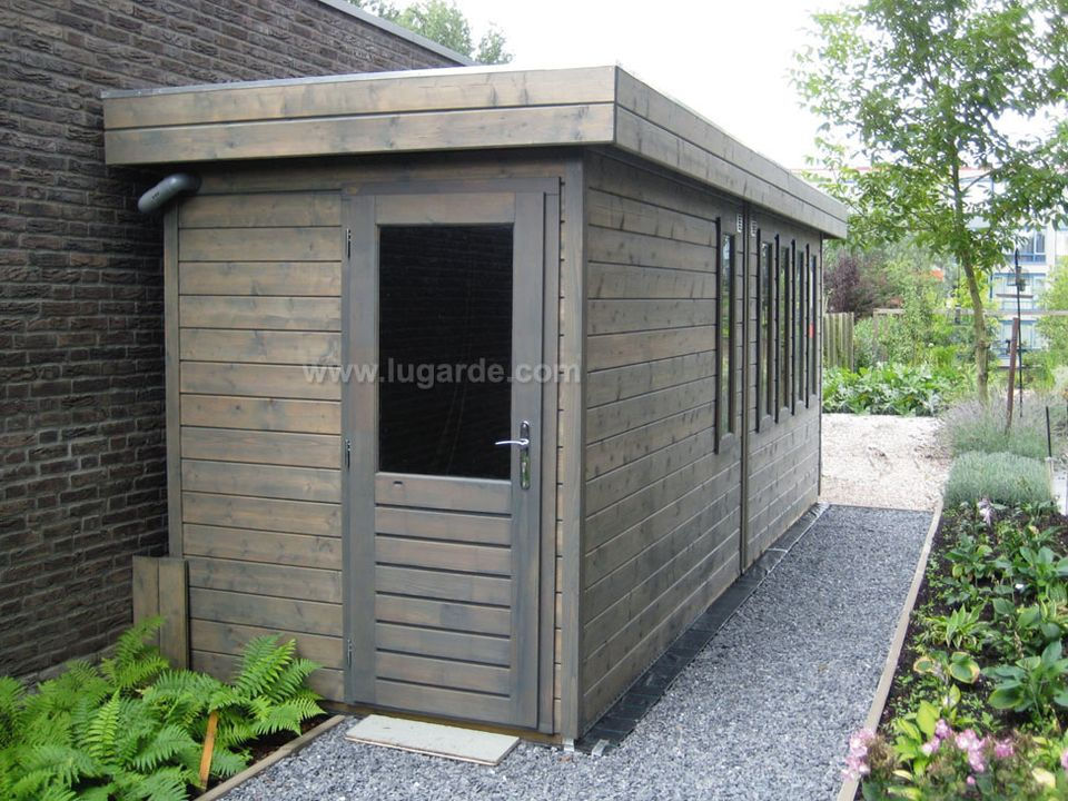 Lugarde Prima Harry flat roof summerhouse