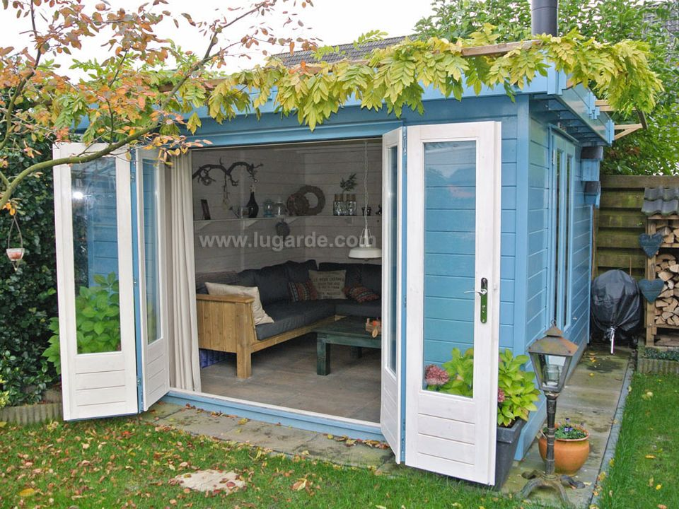 Lugarde Prima Emily flat roof summerhouse