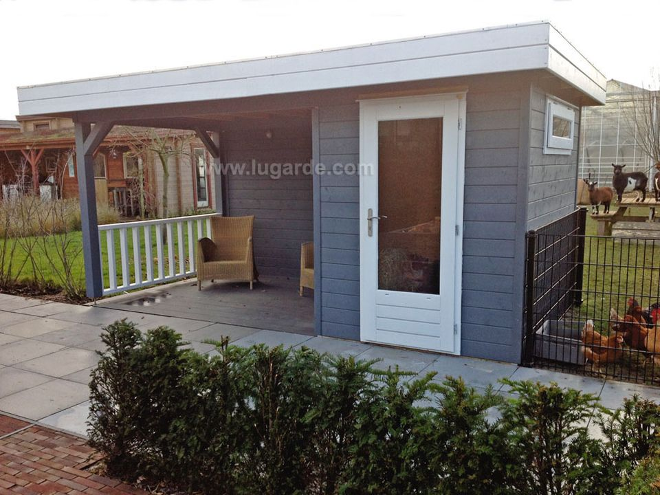 Lugarde Prima Blake flat roof summerhouse