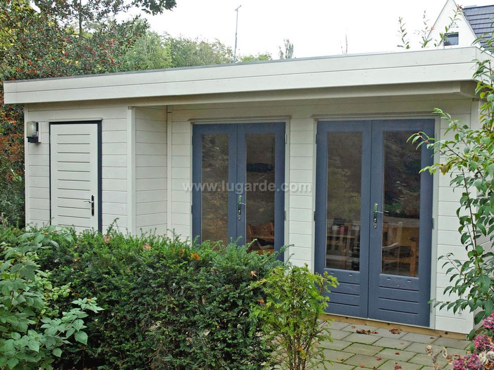 Lugarde Prima Dylan flat roof summerhouse