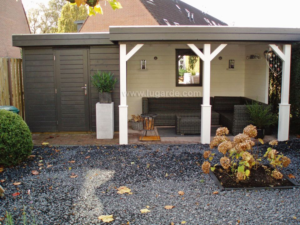 Lugarde Prima Ella flat roof summerhouse
