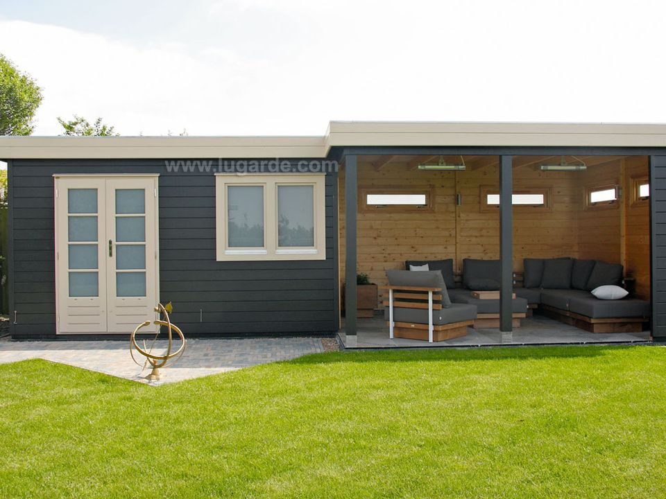 Lugarde Prima Evelyn flat roof summerhouse