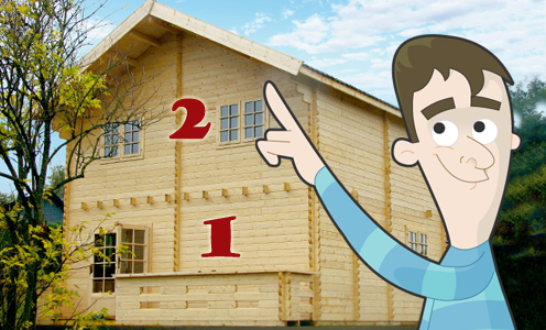 Q5. Will your log cabin be forward of the principle elevation of your house?
