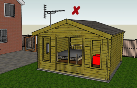 Q12. Do you intend your cabin to be separate, self contained, living accommodation or have a microwave antenna?
