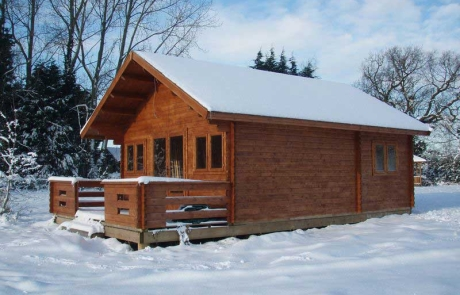 Forest Lodge log cabins are fully insulated for all year round use