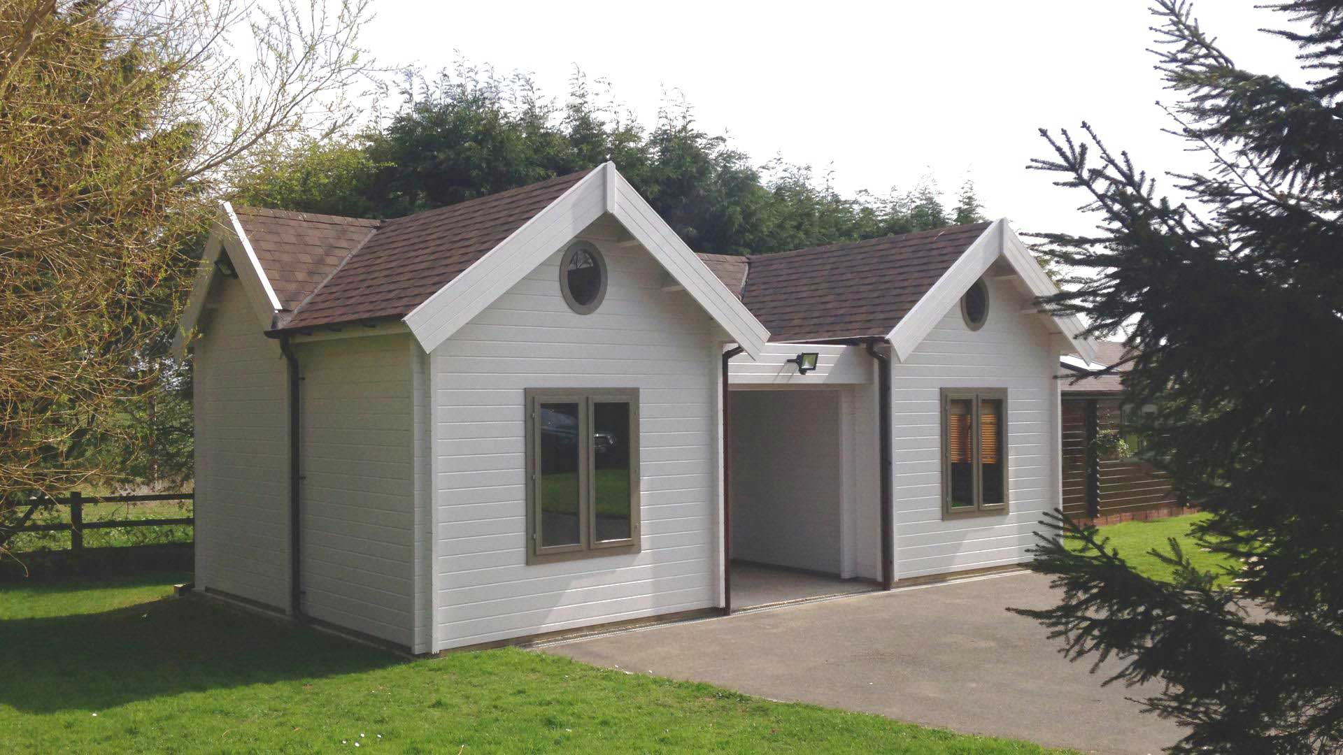 Keops Interlock - log cabins tailor made any size or layout