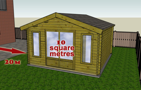 Q2. If your property is in a national park or protected land, is your proposed cabin (and other outbuildings) more than 10 square metres if it is more than 20 metres from any wall of your house?