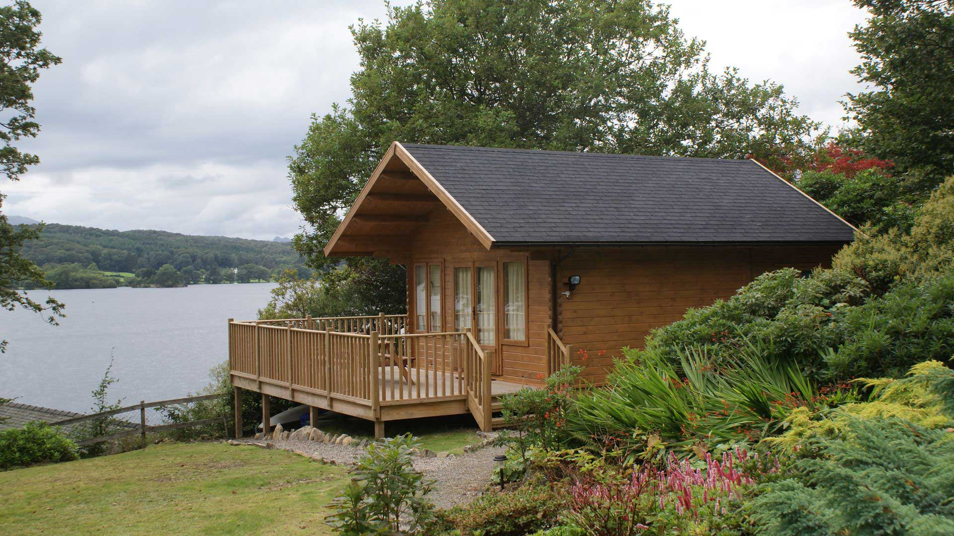 Keops Interlock log cabins - Forest Lodge