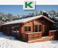 Two Bedroom Lodge log cabins