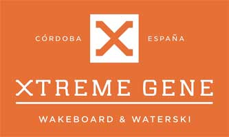 Log cabins at Xtreme Gene Waterski in Spain