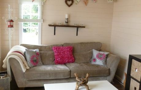 Quatra log cabins - ideal for extra living space