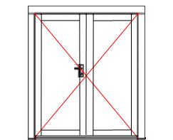 WDD11Premium double door with full glazing