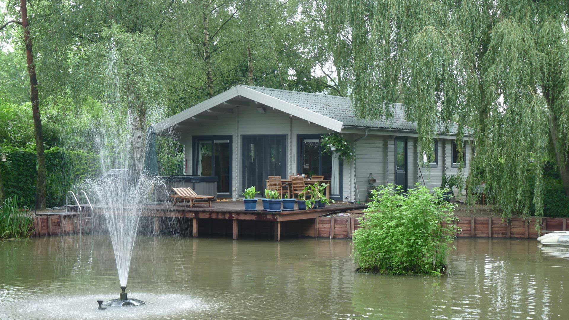 Keops log cabin mobile homes and caravans