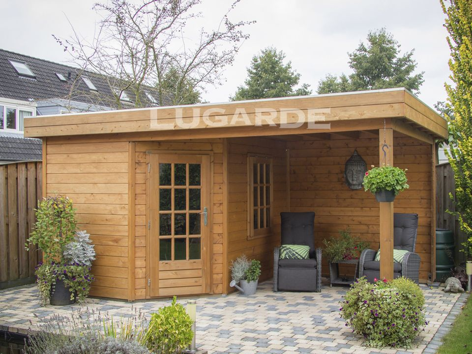 Lugarde Prima Rose Flat roof summerhouse