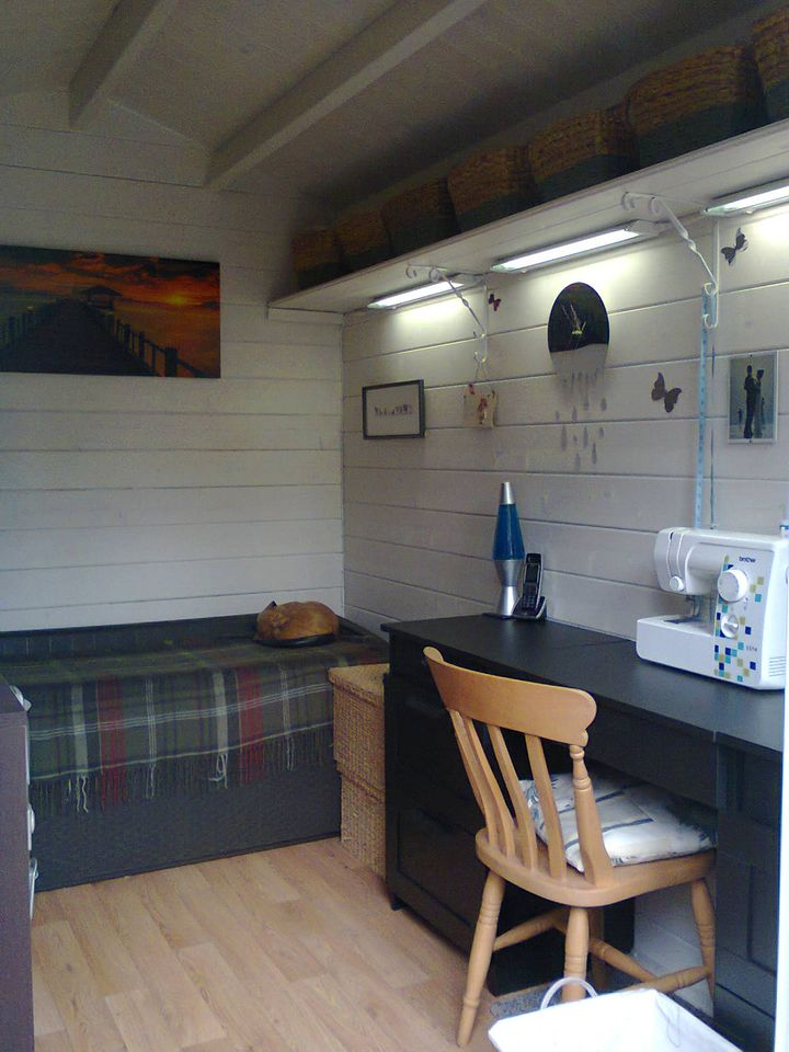 Keops log cabin for sewing & crafts