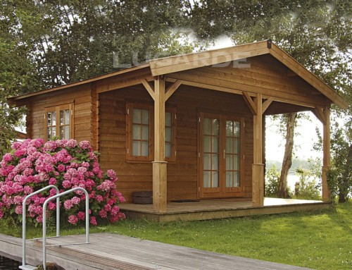 Naples log cabin B34