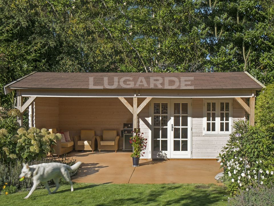 Lugarde Sanremo log cabin