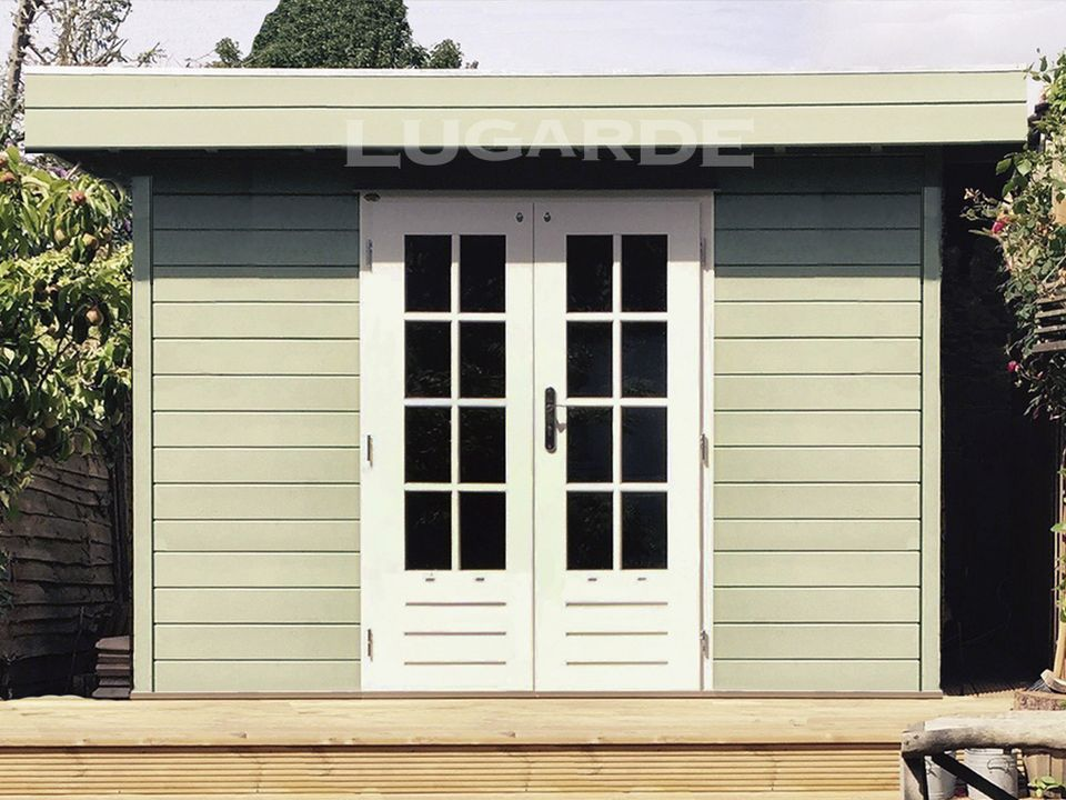Lugarde Prima Theo flat roof summerhouse
