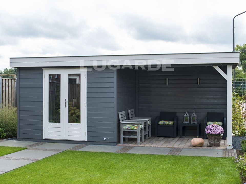 Lugarde Prima Tyler flat roof summerhouse
