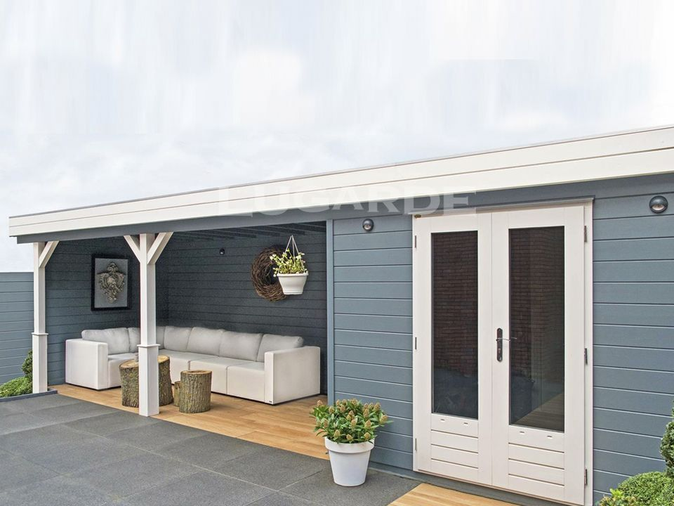 Lugarde Prima Imogen flat roof summerhouse