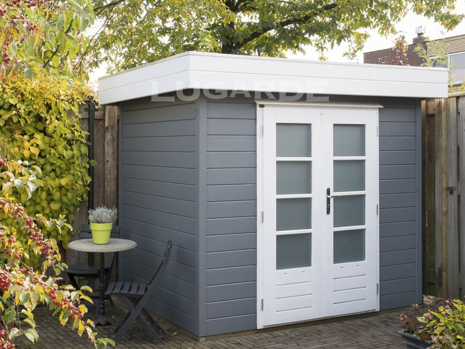 Lugarde Prima Finley flat roof summerhouse