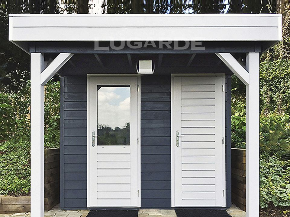 Lugarde Prima Noah flat roof summerhouse