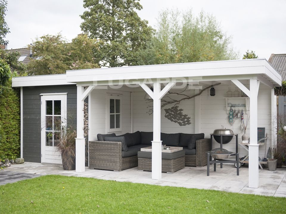 Lugarde Prima Grace flat roof summerhouse