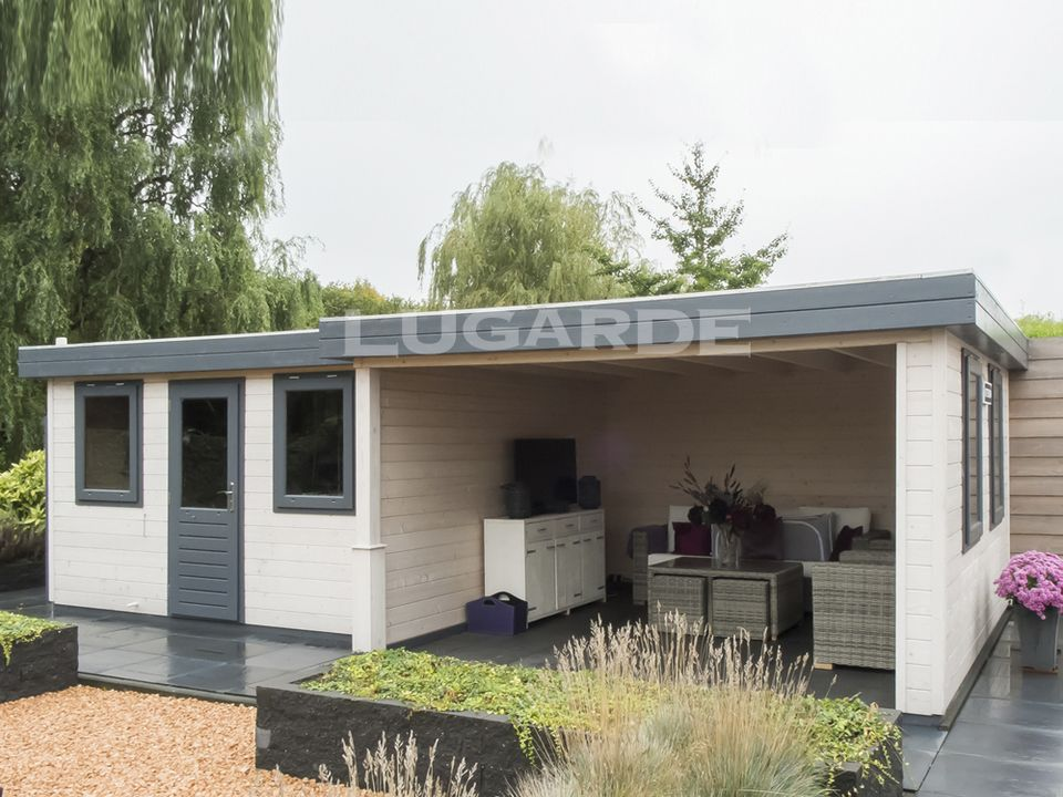 Lugarde Prima Erin flat roof summerhouse