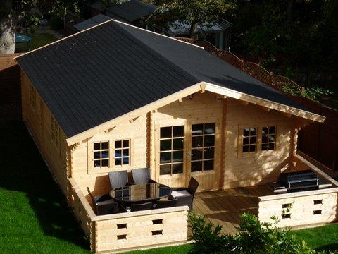 Keops Classic log cabin