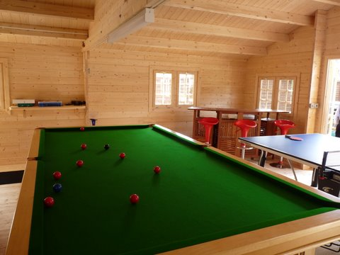 Space for a pool table