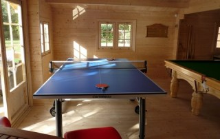 The perfect games room cabin