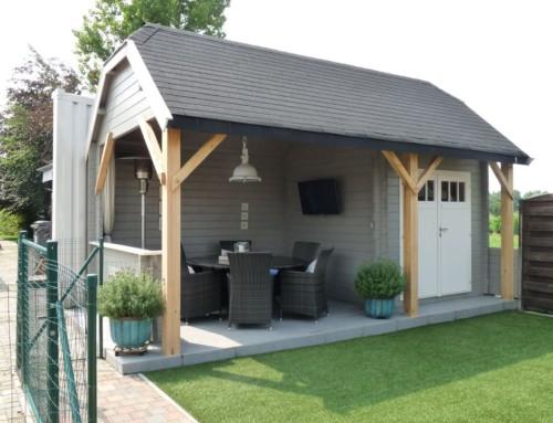 Mr Michel's cabin