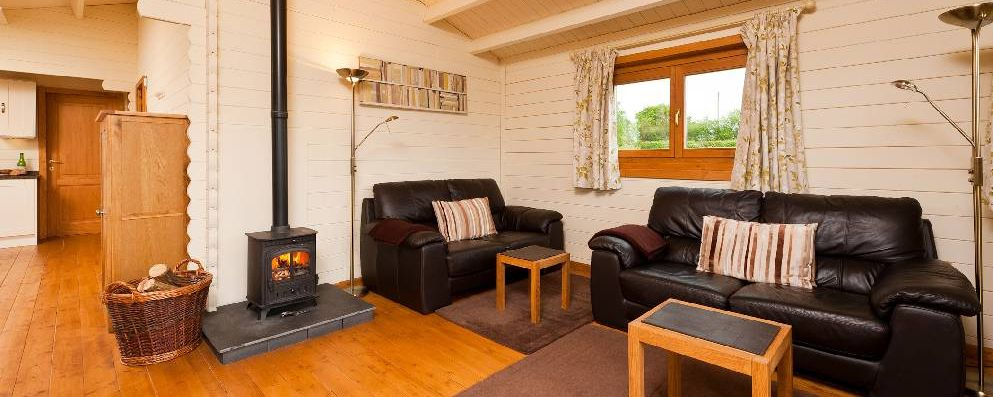 can i install a wood burning stove in my log cabin keops