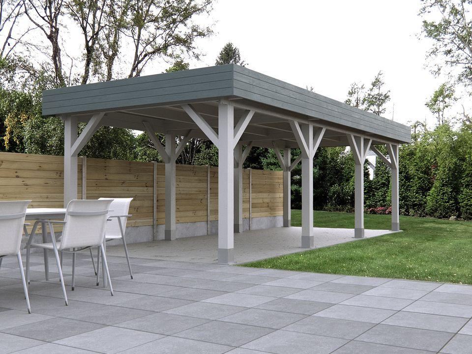 Keops Mariposa Moderna style flat roof gazebo