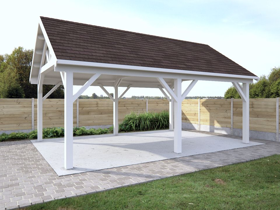 Keops Romeo Cottage style gazebo with steep roof