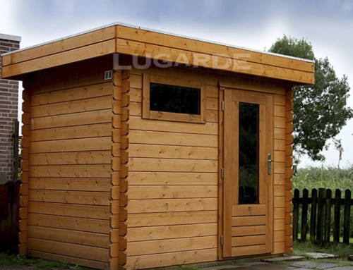 Yorkshire log cabin B1