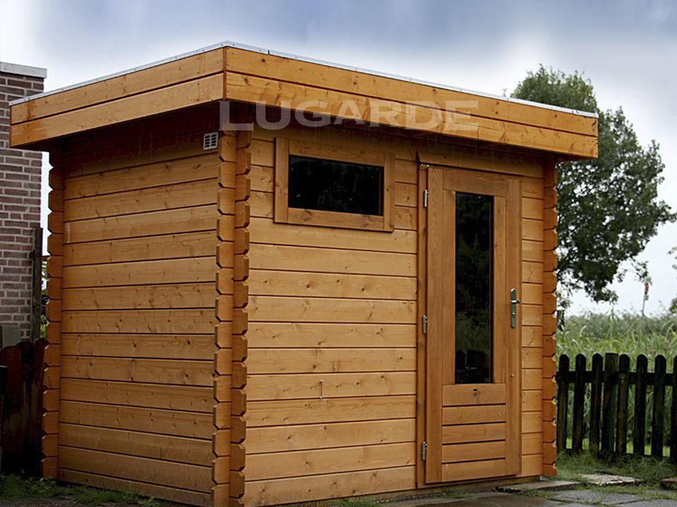 Lugarde Yorkshire log cabin 240 x 180cm