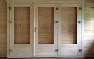 BF3 3 panel bi fold door
