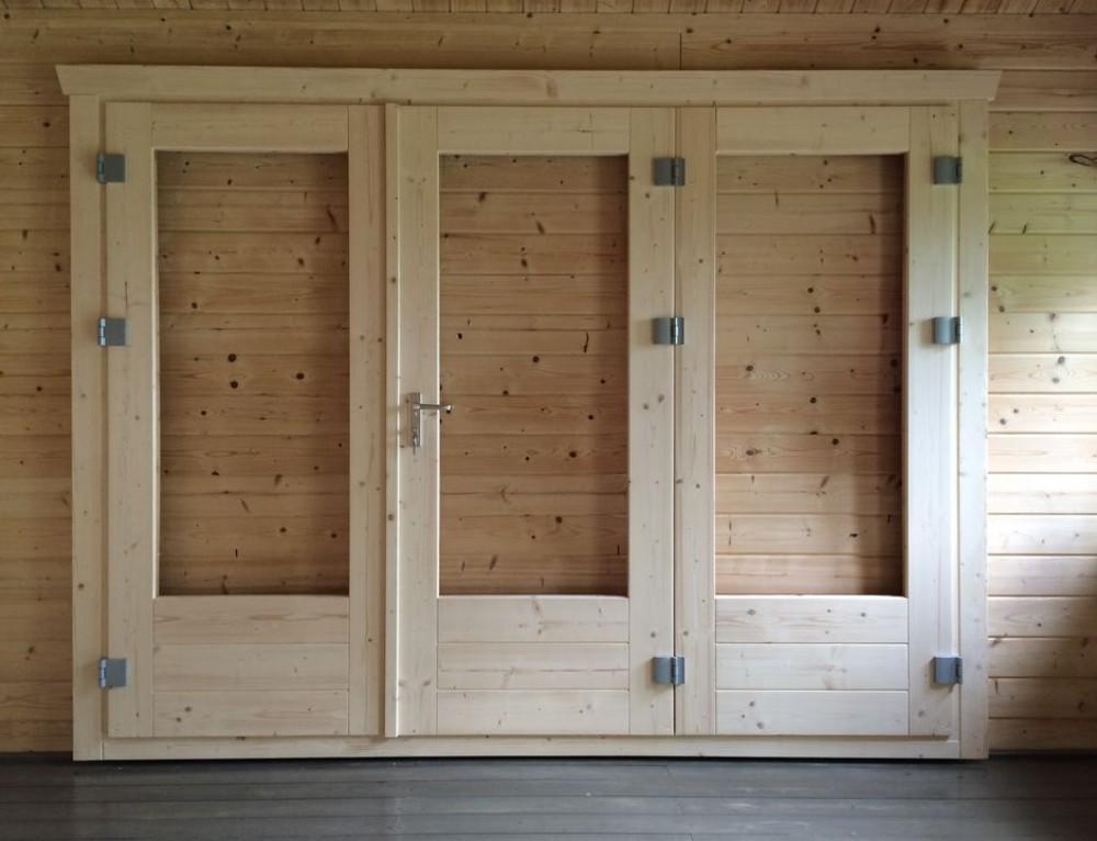 New 3 panel bi-fold door