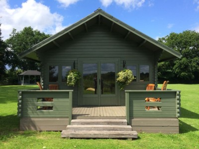 Keops Interlock Forest Lodge Log Cabin