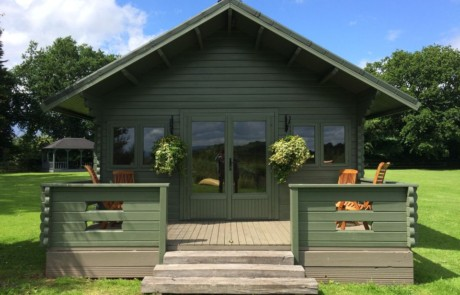Keops Interlock Forest Lodge Log Cabin
