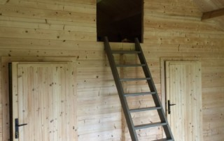 Keops Forest Lodge loft access